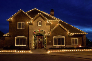 Dallas Christmas Light Installation | Custom Light Hanging - Home